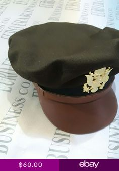 44832e78352 WW2 US Army Crusher Hat WW2 US Army Air Crusher Cap All Sizes Available