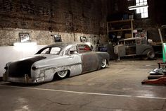 hot rod, muscle cars, rat rods and girls Les Rats, Custom Metal Fabrication, Ultimate Garage, Cool Garages, Traditional Hot Rod, Ford, Us Cars, Dream Garage, Car Manufacturers