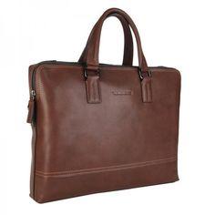 Leather Laptop Bags for Men | ... Leather Briefcase for men messenger shoulder laptop bag coffe VP0009-2
