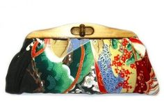 ShopStyle: Uroco Kimono Clutch-When Nature Gets Together from Boticca