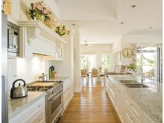 french provincial kitchen - homehound.com.au