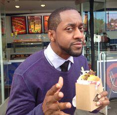 Jaleel White loves Fatburger