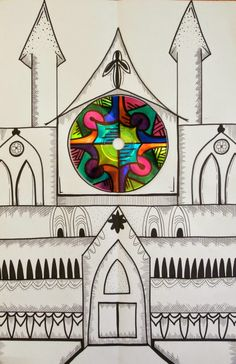 Romanesque and Gothic Architecture | Mrs. K's smARTists