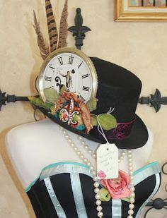 White Horse Relics-fantastic hat perfect for Halloween or New Years Eve