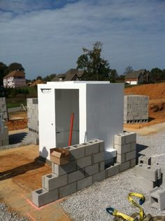 New Home Construction - Tornado Shelters Tornado Safe Room, Panic Rooms, Secret Rooms, New Home Construction, Secret Places, Create Space, Shed, New Homes, Outdoor Structures