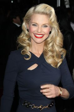 Christie Brinkley hair