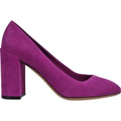 Salvatore Ferragamo Arezzo suede pump chunky heel (715 NZD) ❤ liked on Polyvore featuring shoes, pumps, pink, thick heel shoes, salvatore ferragamo pumps, salvatore ferragamo, pink suede pumps and salvatore ferragamo shoes