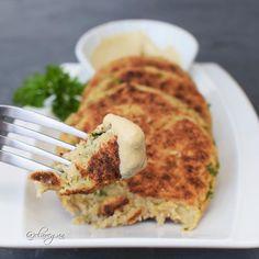 Cauliflower patties recipe | vegan burger - Elavegan