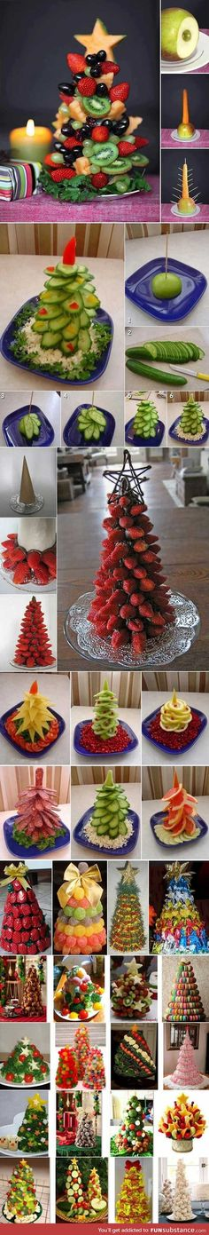 Tasty christmas trees
