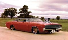 Low Ride 68 Charger Supercharged