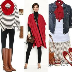 red is one of the five colors that look good on everyone! from tabithadumas.com