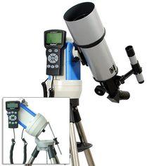 """TwinStar Silver 80mm iOptron Computerized GPS Equatorial Refractor Telescope"" Telescope, Binoculars"