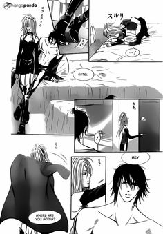 "You almost can hear the pity voice of Cain when he say: ""Setsu"" soo funny     Skip Beat 196 Pag 20"