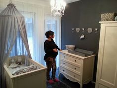 Mooie landelijke babykamer voor een jongen2 Boy Nursey, Baby Boy Rooms, Baby G, Baby Love, Small Space Nursery, Future Baby, Small Spaces, Kids Room, Toddler Bed