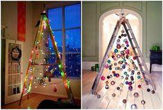 NapadyNavody.sk | Kreatívne nápady na netradičné vianočné stromčeky, ktoré si viete vyrobiť aj vy
