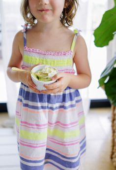 Healthy No-Bake Key Lime Pie Mousse -- with a surprising ingredient that makes them Vegan, too!