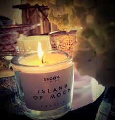 We love SKOON, after enjoying the exquisite fragrance of this candle, you can dip your fingers in the soft oil and massage onto your skin. Keep the flame of appreciation burning!!