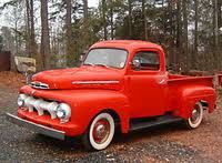 1951 Ford Truck.  Now, it just needs to be pulling an Airstream Bullet Camper behind it and have a Black Lab in the bed of the truck!