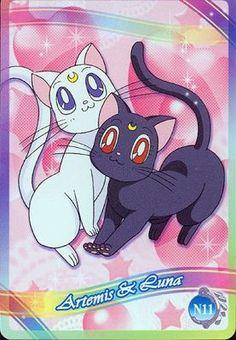 Luna and Artemis...