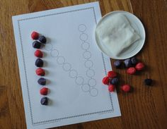 Magic noodles with Lots of Dots alphabet worksheets