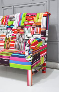 Now, that is some amazing upholstery.