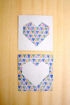 Estéfi Machado - stamped heart