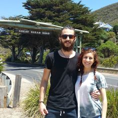 Great Ocean Road with my beautiful girl #greatoceanroad #lorne #torquay #apollobay #australia #funday by ersypersy