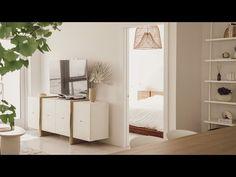 My NEW Cozy Minimalist Bedroom & Bathroom Makeover   Designing My Hooga Home - Part 4 - YouTube Apartment Makeover, Apartment Design, Bedroom Apartment, Diy Bedroom, Abundant Life, Minimalist Bedroom, Diy Home Decor, Cozy, Interior Design