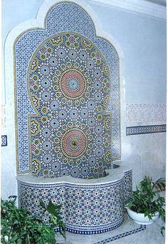 Morrocan fountain