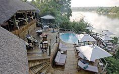 Tanzania, Selous Game Reserve, Serena Mivumo rivier Lodes