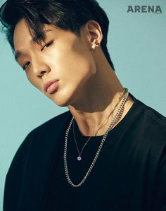 that jawline sharp af Kim Jinhwan, Chanwoo Ikon, Bi Rapper, Ikon Leader, Kpop Rappers, Ikon Wallpaper, Mobb, Jawline, Famous Men
