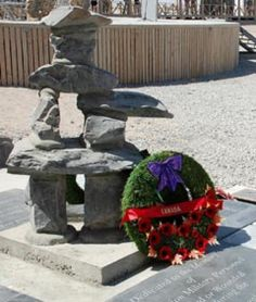 Inukshuk in Afghanistan rededicated to all NATO fallen - World - CBC News War Memorials, Canadian Soldiers, Afghanistan War, Armed Forces, World, Fall, Plants, News, Special Forces