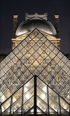 The Louvre- Paris. I've actually accomplished going to this place. Only a few million to go on my bucket list! ;)