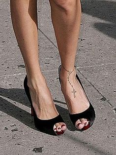 ankle bracelet tattoo