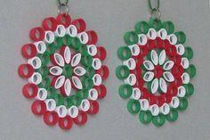 Ornaments in der Kunst der quilling Barbaras Beautys Neli Quilling, Quilling Jewelry, Quilling Craft, Quilling Patterns, Quilling Designs, Christmas Projects, Crafts To Make, Christmas Crafts, Christmas Ornaments