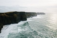 "madebyfinn: "" Cliffs of Moher, Ireland """