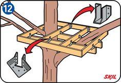Lær, hvordan du bygger et træhus til dine børn med den let forståelige vejledning fra Gør-det-selv for begyndere.
