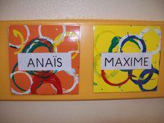 Couvertures et étiquettes - Des Arts Visuels à l'école maternelle