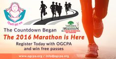 The countdown began.... The 2016 Marathon is here.... Register Today with OGCPA and win free passes... http://ogcpa.org/