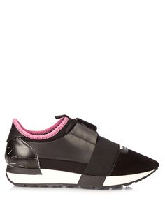 Race multi-panel low-top trainers | Balenciaga | MATCHESFASHION.COM
