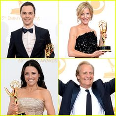 Check out the full list of 2013 Emmy Award winners! List Of Awards, Just Jared, Award Winner, Funny Moments, In This Moment, Celebrities, Check, Celebs, Celebrity