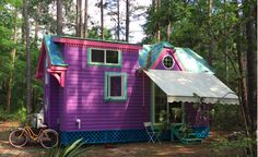 This Tiny House Was Built By Green Cabins In 2014 For Nicki Jo Davis A Firefighter And Recent