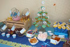 Under the Sea party: Lucas is 4!   Chickabug