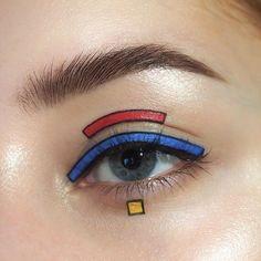- List of the most beautiful makeup Makeup Eye Looks, Eye Makeup Art, Crazy Makeup, Cute Makeup, Pretty Makeup, Skin Makeup, Makeup Inspo, Beauty Makeup, Fairy Makeup