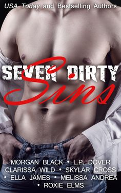 Twin Sisters Rockin' Book Reviews: ~Cover Reveal: Seven Dirty Sins~ #SevenDirtySins Coming August 13th!