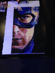 that's perler beads, are you kidding?!