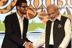 #Microsoft and #Google pledge to connect Digital India - #DigitalIndia