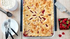 Please a crowd with these easy-to-bake and easy-to-take slab pie recipes.