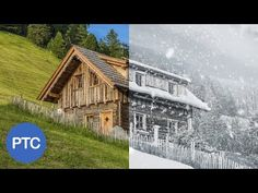 How to create snow in photoshop | photo effects [ Episode 4 ] - YouTube