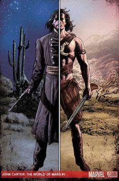 Marooned - Science Fiction & Fantasy books on Mars: Marvel discusses John Carter: World of Mars, its new offensive in Barsoomian comic book war